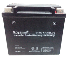 Nano gel Powersport battery