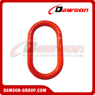 DS091 G80 U.S. Type Forged Master Link for Chain Lifting Slings / Wire Rope Slings