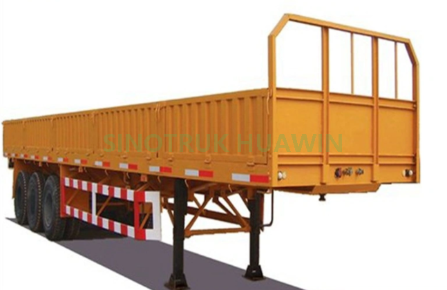 SINOTRUK 40FT 2 Axles Wall Side Semi Trailer