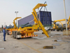 SINOTRUK Side lifter Crane Trailer