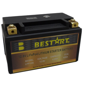 12.8V 4ah LiFePO4 Lithium Starter Battery LFP10S