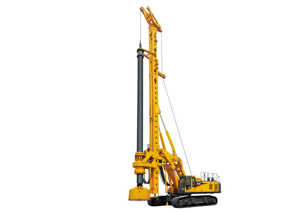 Sri Lanka Batch Construction Use XCMG XR400E rotary drilling rig