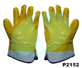 P2152 PVC coated gloves