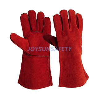 WCBR01 red welding gloves