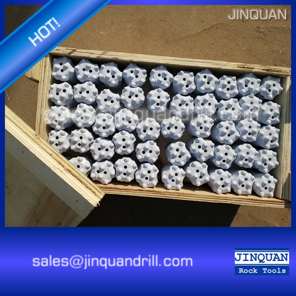 Rock Drilling Tools Tapered Button Drill Bits