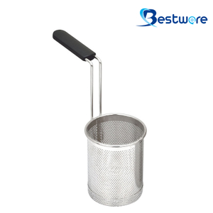 Cylindrical Stainless Steel Pasta Basket - BTW60S57-201
