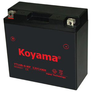 Yt14b-4-Mf Sealed Maintenance Free Battery 12V SMF Powersport Motorcycles Scooters Atvs