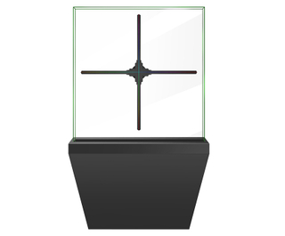 100 cm LED FAN 3D Hologram Display with stand