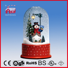 (P23036L) LED Lights Decorated Snowman Doll Christmas Gift