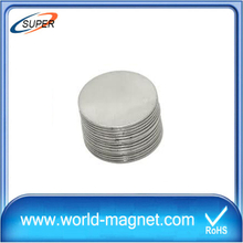 N52 high gauss strong permanent disc neodymium magnet
