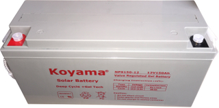 New 12V 150Ah Solar Gel Battery