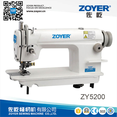 ZY5200 zoyer high speed lockstitch industrial sewing machine with side cutter