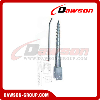 DS U111×865 Earth Auger U Ground Pile Series