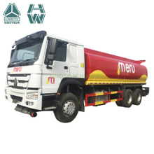 SINOTRUK HOWO 6X4 oil Fuel Tank Truck for sale