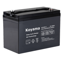 6V200AH Deep Cycle Gel Battery DCG200-6