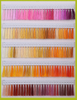 Sakura Brand 120d Polyester Embroidery Thread Card with 1680 Colors