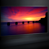 100 inch Edgeless Frame Screen, Ambient Light Black Diamond Projection Screen