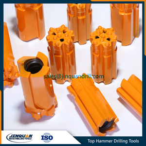 Button Bits T38-D76mm Retrac Drop Center