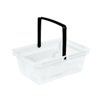 7L Single Handle Shopping Basket B-39