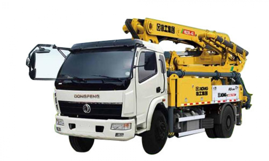 HB41 XCMG Truck Mounted Concrete Pump
