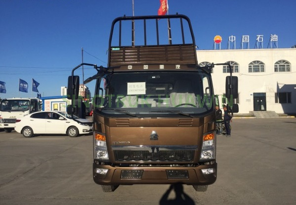 SINOTRUK 4X2 Middle 4T to 10T Tipper Truck