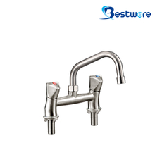 Dual Deck Mount Sink Mixer