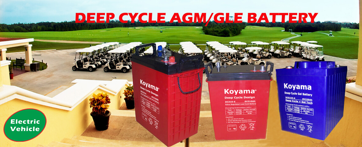Deep Cycle Gel Battery Manufacturer and Supplier