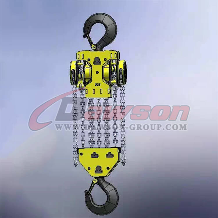 DS-DF-B 20T,30T Heavy Duty Lifting Chain Hoist, Chain Block