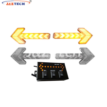 Amber led light bar arrow light
