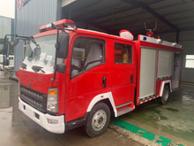 SINOTRUK HOWO 4×2 Fire Fighting Truck