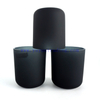 16oz Christmas candle jar black grey luxury candle containers for candle making