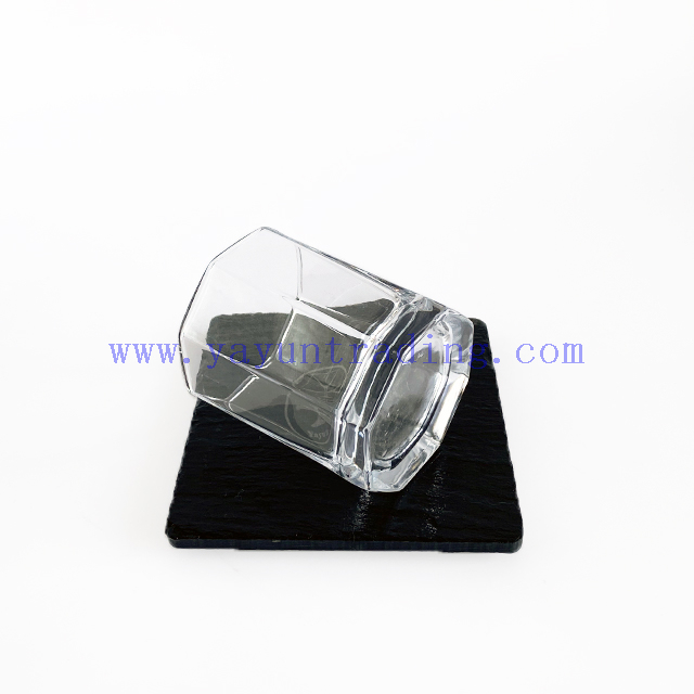 Octagonal Crystal Whiskey/Juice/Water Glass Tumbler