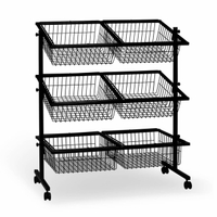 6 Basket Impulse Display Bin