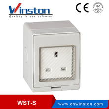 WST-S British Type Electrical Safety 1 Enchufe para Pandillas