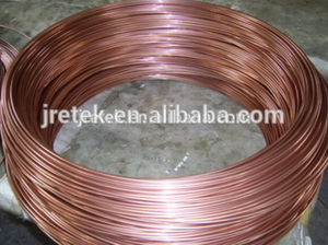 Refrigeration capillary copper tube