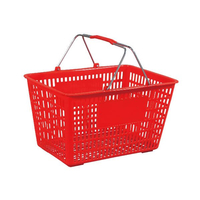 38L Double Handle Shopping Basket B-40