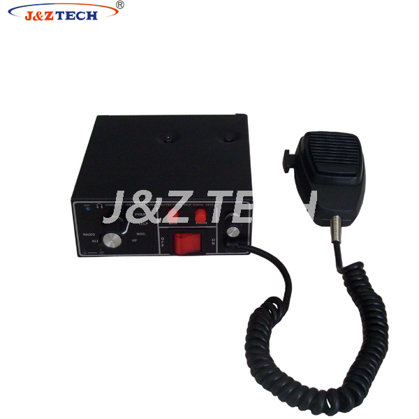 VEHICLE ELECTRONICAL SIREN AMPLIFIER