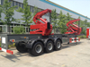20FT Container Sidelifter Container Side Load Crane Semi Trailer