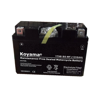 Yt9b-BS Sealed Maintenance Free Battery 12V Powersport Motorcycle Scooter Atvs