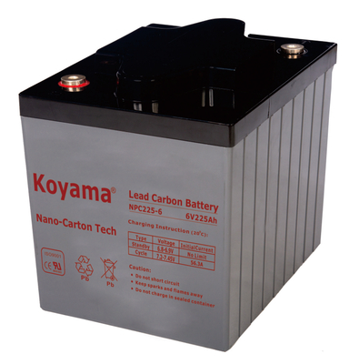 6V 225AH High Quality Deep Cycle Lead Carbon Battery NPC225-6