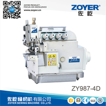 ZY987-4D Zoyer EX series 4-thread cylinder bed overlock sewing machine