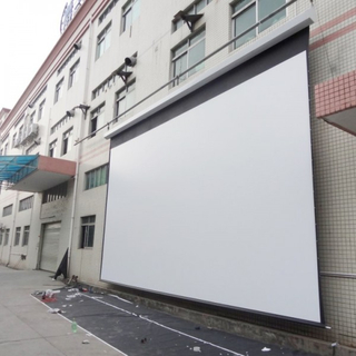 "450"" 4:3 Large Motorized Projection Screen/Tab-Tension Electric Projector for Hotel/School/Hall"