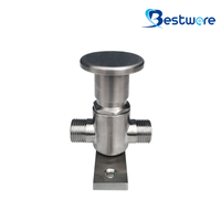 Push Button Knee Operated Valve