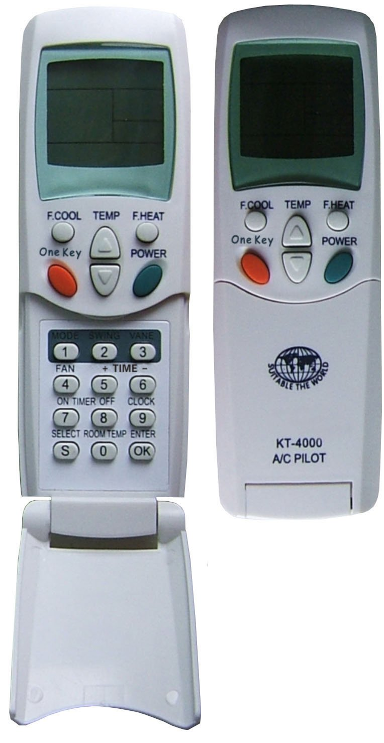 Kt 4000 One Key Universal Ac Air Conditioner Remote