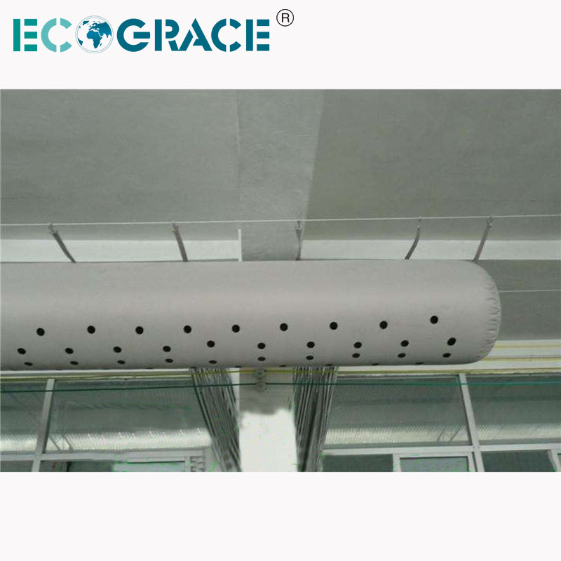 Fabric Air Duct for Industrial HVAC System