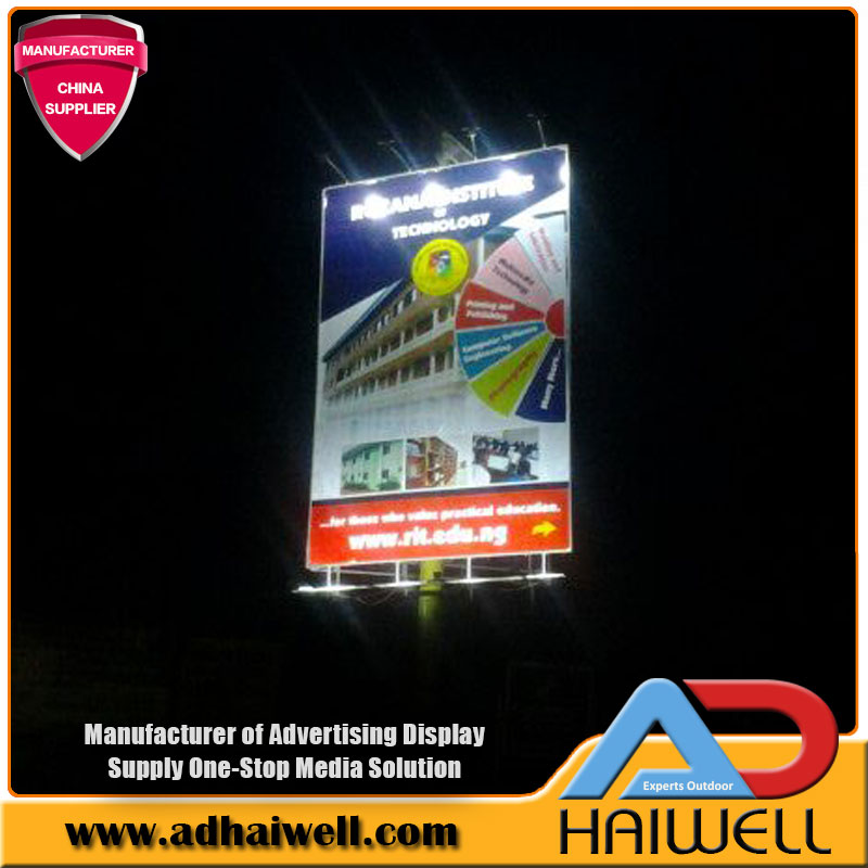 Solar Power LED-Leuchten Billboard Display