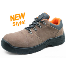 5050 Low ankle anti slip steel toe cap breathable sport type safety shoes dubai