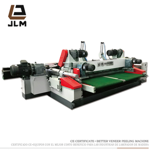 Spindle Less Wood Log Veneer Rotary Peeling Lathe