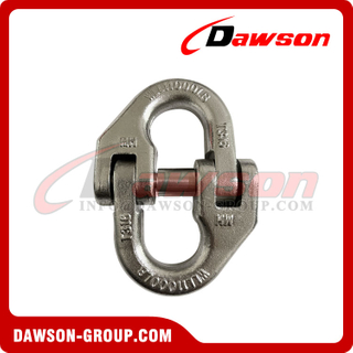 Stainless Steel 316 Drop Forged Hammer Lock Rigging Hardware, T316 Connecting Link