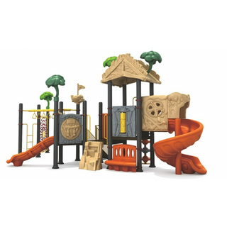 Bright Color Outdoor Toddler Tree House Playground With Climbing (ML-2002101)